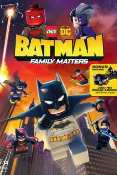 LEGO DC: Бэтмен – Семейные дела / Lego DC Batman: Family Matters (2019)